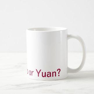 Mug Euro ou yuan du dollar ?