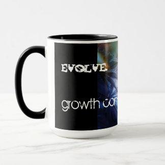 "Mug * "" ÉVOLUEZ"" le café Mug* de concepteur"