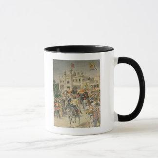 Mug Exposition de 1900 : le pavillon Anglo-Indien