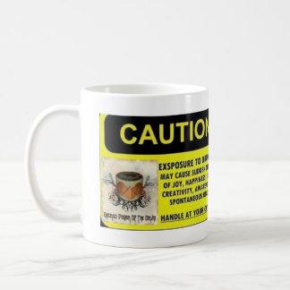 Mug Exposition de précaution à battre du tambour de la