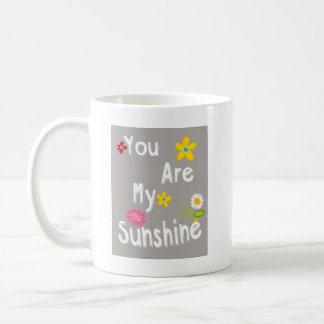 Mug Expression de motivation de typographie - gris