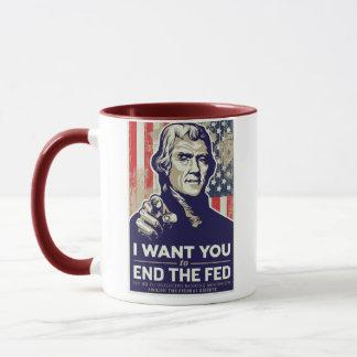 Mug Extrémité de Jefferson le Fed