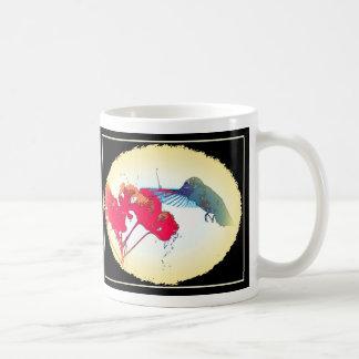 Mug Faune animale d'oiseau de colibri florale