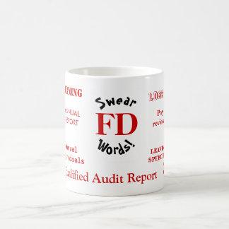 Mug FD jurent le directeur drôle ennuyant de finances