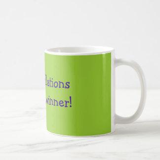 Mug Félicitations à un vrai gagnant !