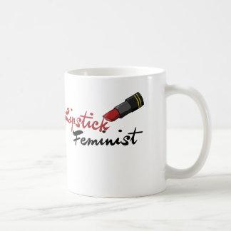 Mug Féministe de rouge à lèvres