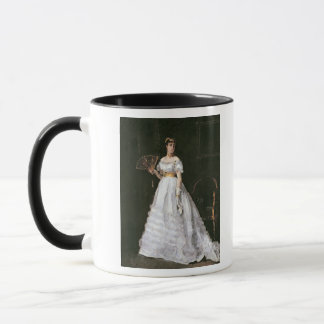 Mug Femme dans le blanc