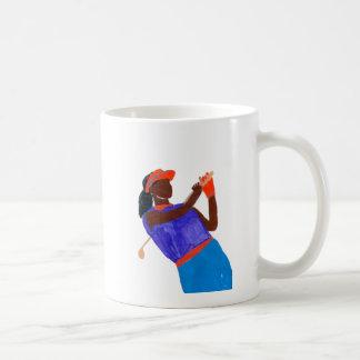 Mug Femme de golfeur