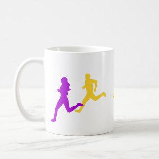 Mug Femmes courant d'abord la course
