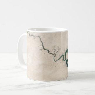 Mug Fente d'antenne de rivière de désert