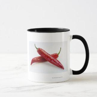 Mug Fermez-vous des poivrons de piment rouge