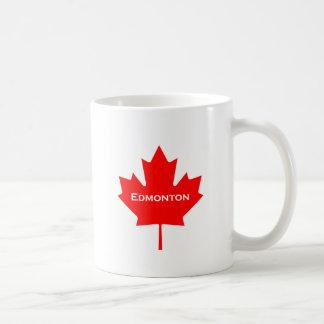 Mug Feuille d'érable rouge d'Edmonton