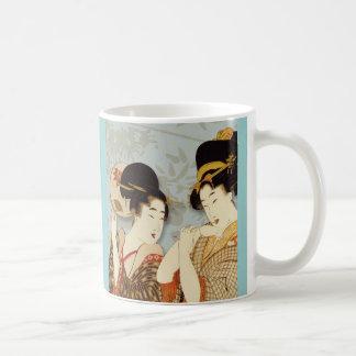 Mug Filles de geisha vintages
