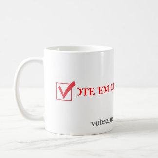 Mug Fin de support 2012 de vote