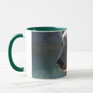 Mug Fin d'ours blanc vers le haut de portrait