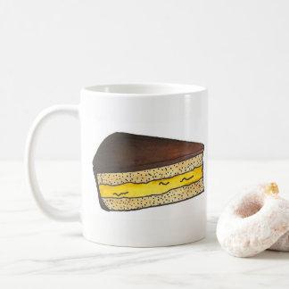 Mug Fin gourmet crème le Massachusetts de tranche de