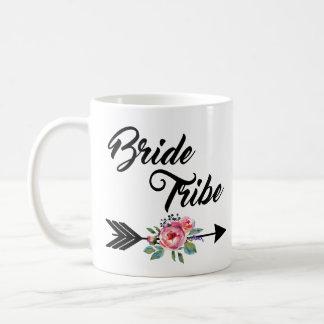 Mug Flèche florale de tribu de jeune mariée