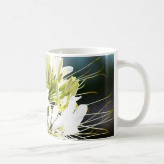 Mug Fleur de lis blanc
