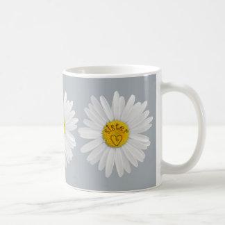 Mug Fleur de marguerite pour l'arrière - plan de