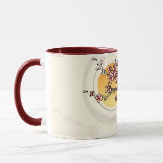 Mug Fleur de pêche
