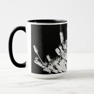 Mug Fleur sauvage d'art déco