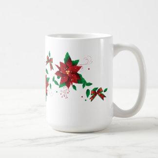Mug Fleurs de vacances d'hiver