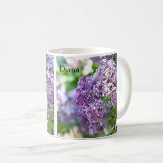 Mug Fleurs lilas