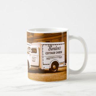 Mug Flotte de camion du fromage blanc de Borden