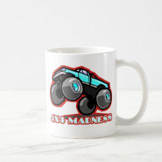 Mug folie 4x4 : Camion de monstre tous terrains