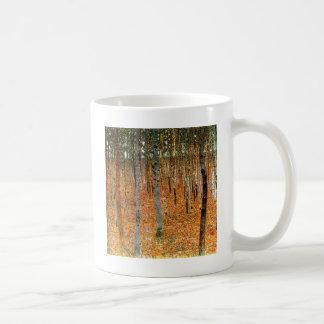 Mug Forêt de hêtre par Gustav Klimt