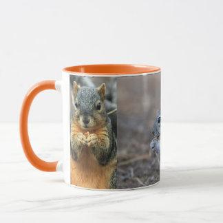 Mug Forêt mignonne de parc de région boisée d'écureuil