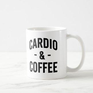 Mug Forme physique drôle cardio- et de café de séance