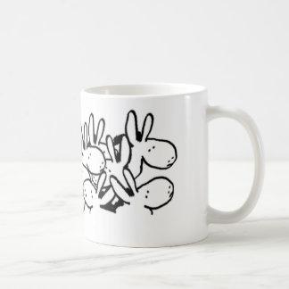 Mug foule des ânes