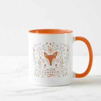 Mug Fox lunatique de région boisée