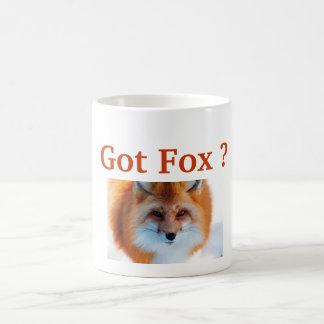 Mug Fox obtenu ?