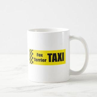 Mug Fox Terrier de taxi