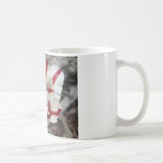 Mug frange de tulipe, rouge et blanche