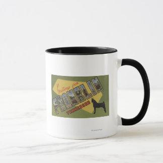 Mug Franklin, Tennessee - grandes scènes de lettre