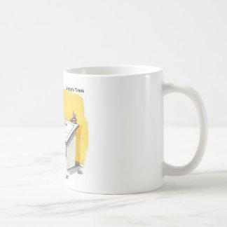 Mug Fred dessine les cadeaux excentriques drôles vides