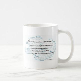 Mug Fred l'amibe - un poème de la Science de