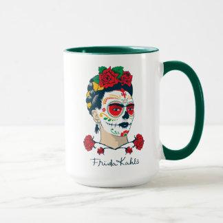 Mug Frida Kahlo | El Día de los Muertos