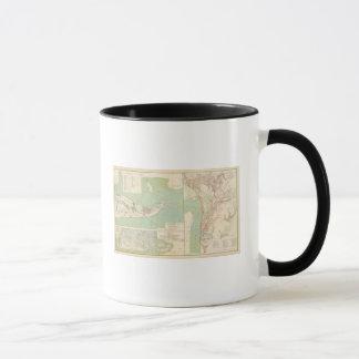Mug Galveston, port de Charleston, port le Hudson