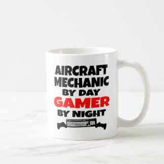 Mug Gamer de mécanicien d'aviation
