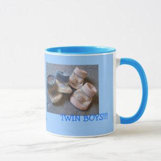 Mug garçons de jumeaux