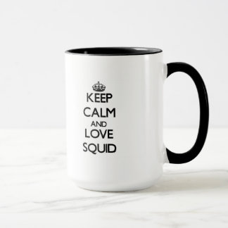 Mug Gardez le calme et aimez le calmar