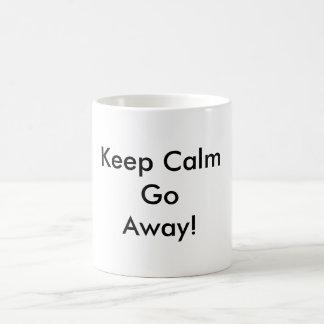 Mug Gardez le calme et aller-en