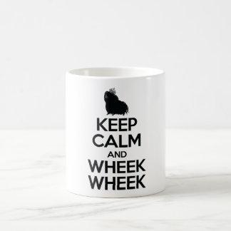 Mug Gardez le calme et le Wheek Wheek