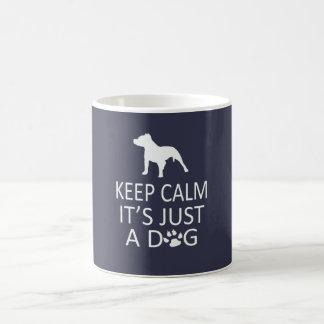 Mug Gardez le calme que c'est juste un chien