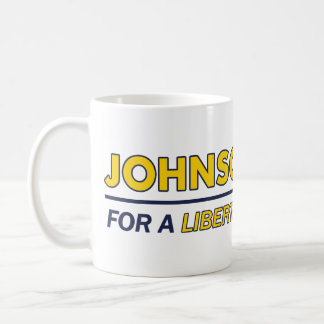 Mug Gary Johnson/tasse libertaire élection 2016 de