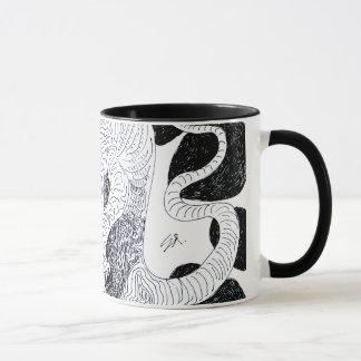 Mug Gaze de nuit B&W de monstre Coffeemug